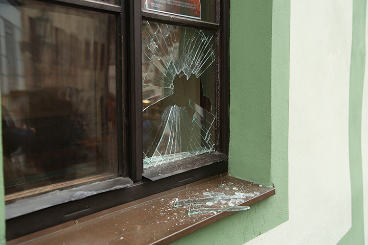 A2B Glass are able to board up broken windows while they are being repaired in Camberwell.